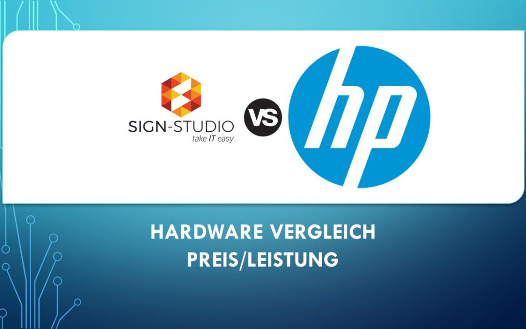 SIGN-Studio Workstation – VS. – HP Z4 G4